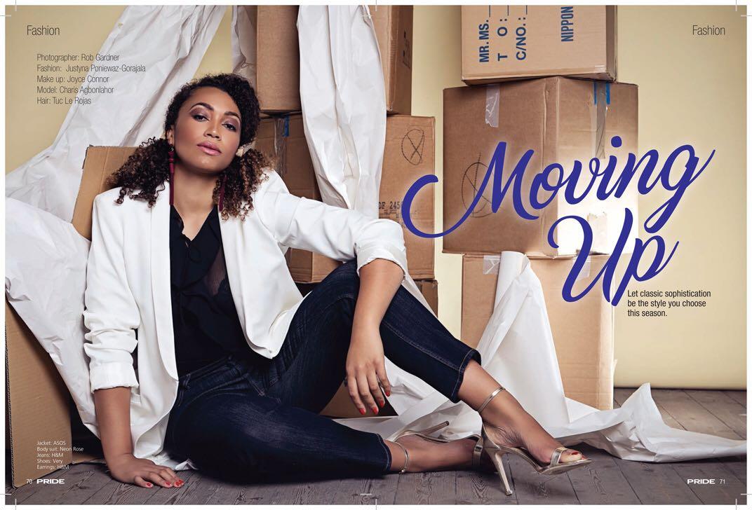Moving Up -  Pride Magazine 1
