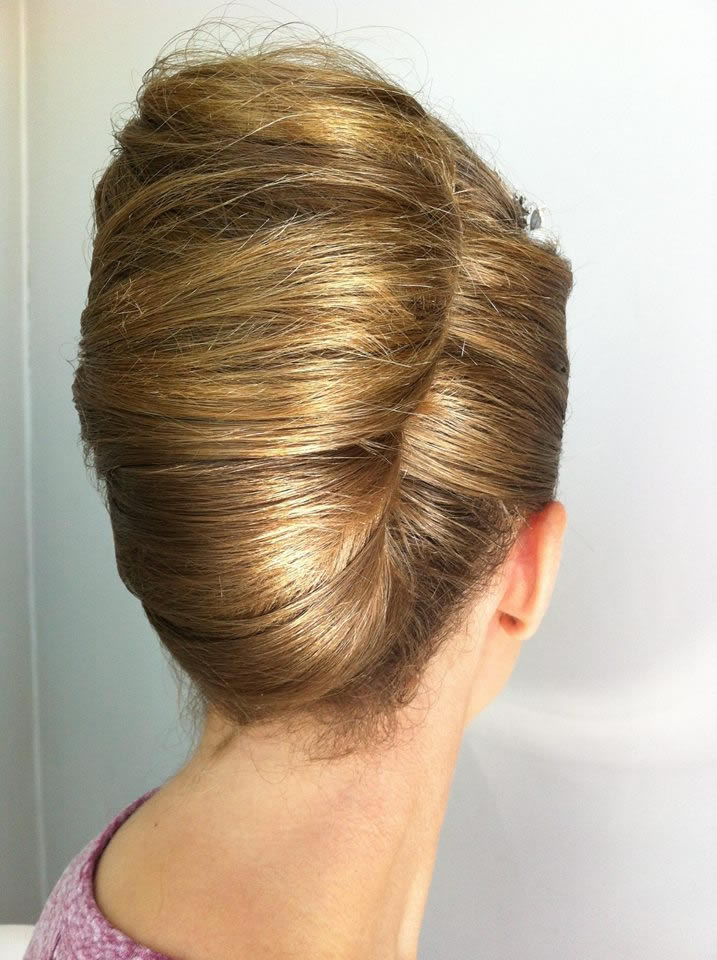 Client hair up 2