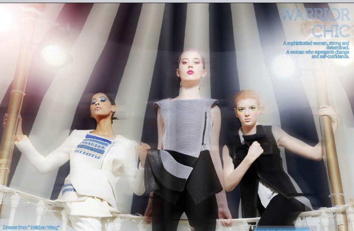 Revolving Fashion Photoshoot for 2be Magazine 1