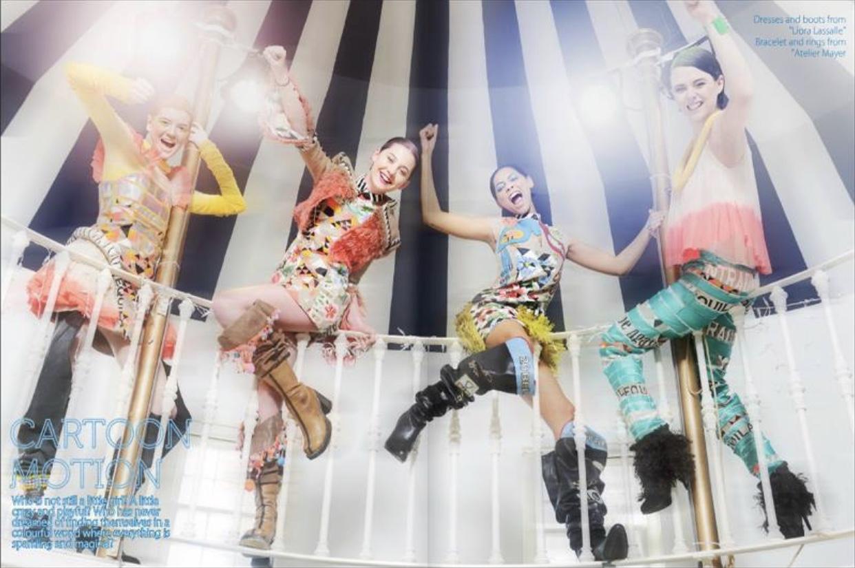 Revolving Fashion Photoshoot for 2be Magazine 2