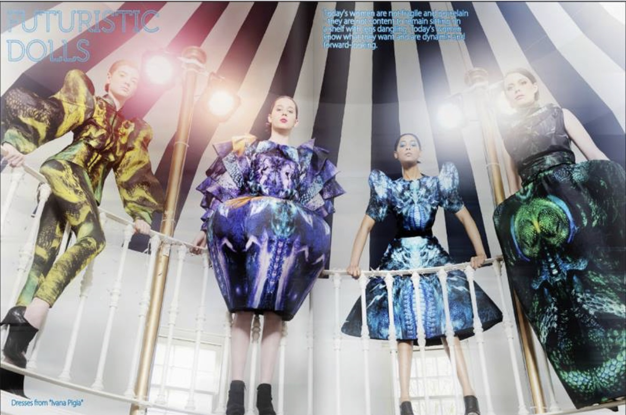 Revolving Fashion Photoshoot for 2be Magazine 5