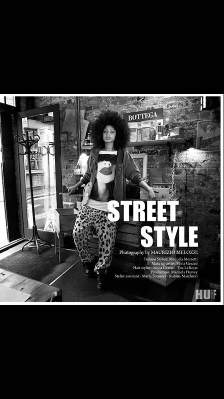 Street Style Photoshoot for HUF magazine 1
