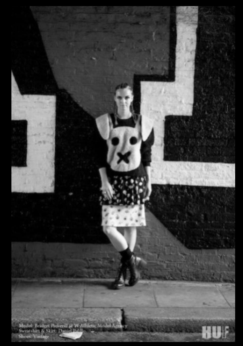 Street Style Photoshoot for HUF magazine 8
