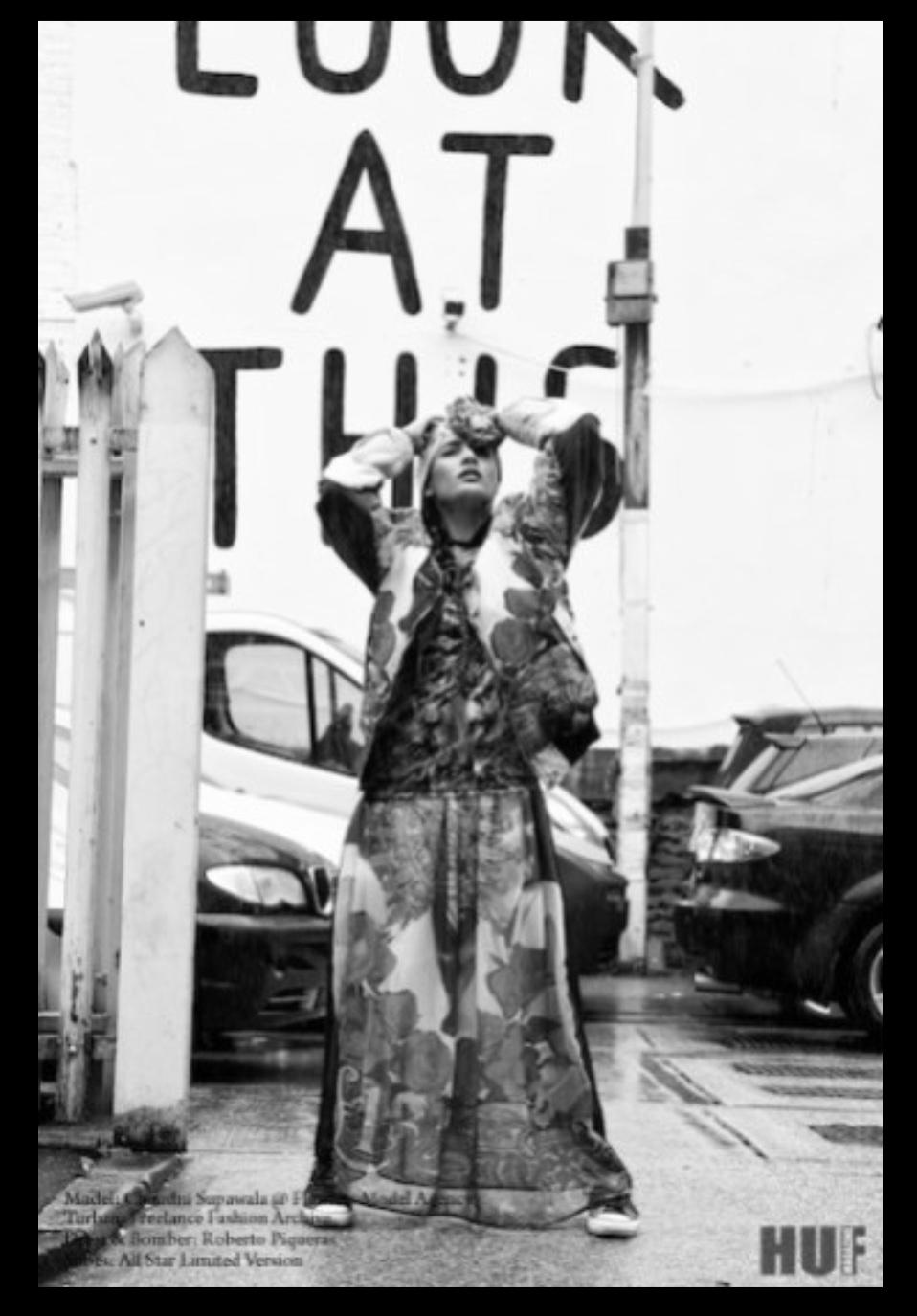 Street Style Photoshoot for HUF magazine 5