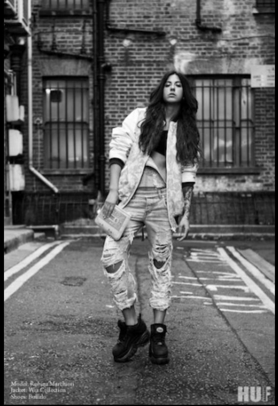Street Style Photoshoot for HUF magazine 6